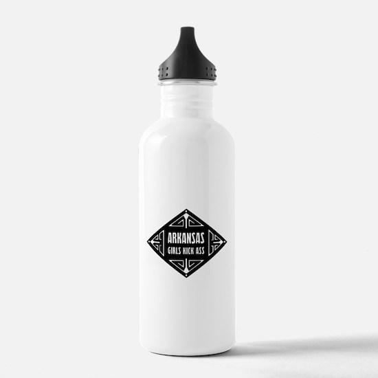 Arkansas Girls Kick Ass Water Bottle