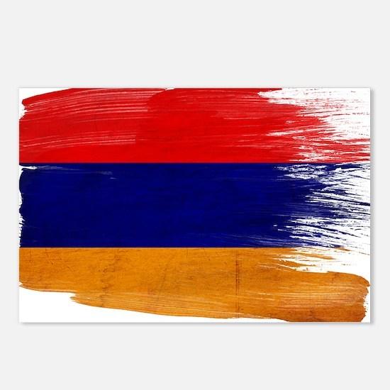 Armenia Flag Postcards (Package of 8)