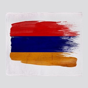 Armenia Flag Throw Blanket