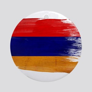 Armenia Flag Ornament (Round)
