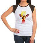 Cute Angel in Red Women's Cap Sleeve T-Shirt