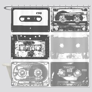 Mixtapes Shower Curtain