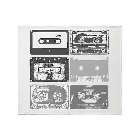 Mixtapes Throw Blanket