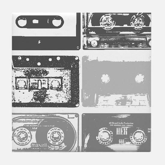 Mixtapes Tile Coaster
