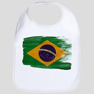 Brazil Flag Bib