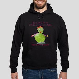 Cactus Lady Hoodie (dark)