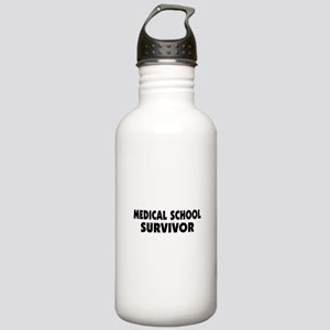 Medical School Survivor Stainless Water Bottle 1.0
