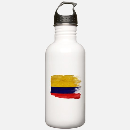 Colombia Flag Water Bottle