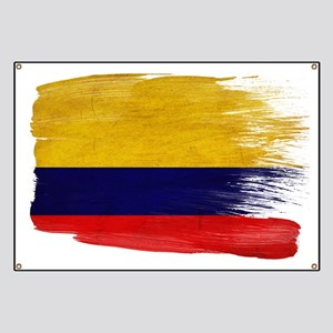 Colombia Flag Banner
