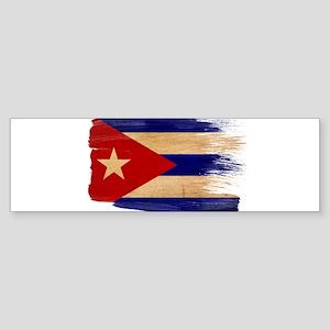Cuba Flag Sticker (Bumper)