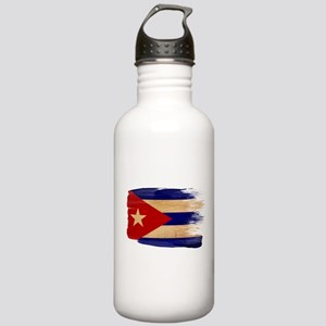 Cuba Flag Stainless Water Bottle 1.0L