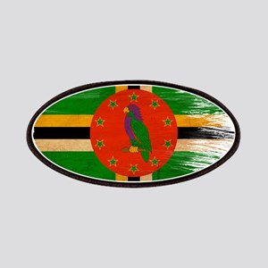 Dominica Flag Patches