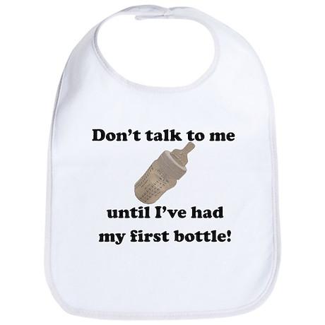 First Bottle Bib (blue)