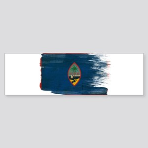 Guam Flag Sticker (Bumper)