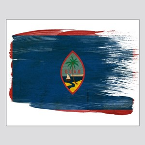 Guam Flag Small Poster