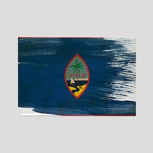 Guam Flag Rectangle Magnet