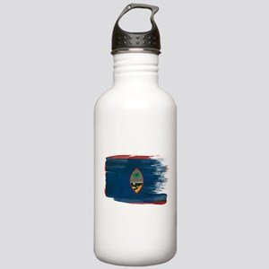 Guam Flag Stainless Water Bottle 1.0L