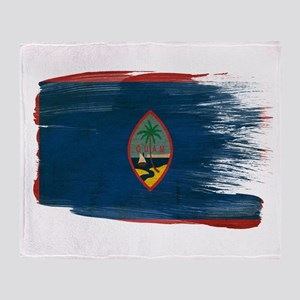 Guam Flag Throw Blanket