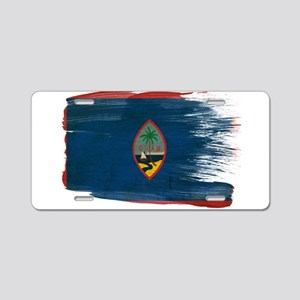Guam Flag Aluminum License Plate
