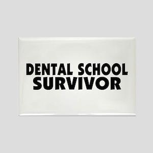 Dental School Survivor Rectangle Magnet