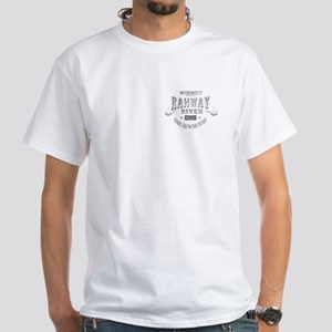 Rahway River Whiskey White T-Shirt