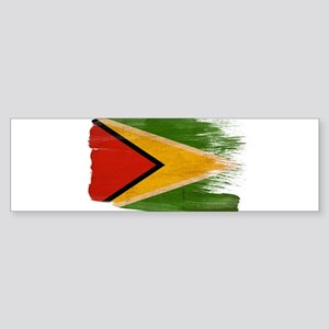 Guyana Flag Sticker (Bumper)