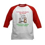 Pet Stores are for Supplies Kids Baseball Jersey