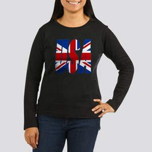 Jack in the USA Women's Long Sleeve Dark T-Shirt