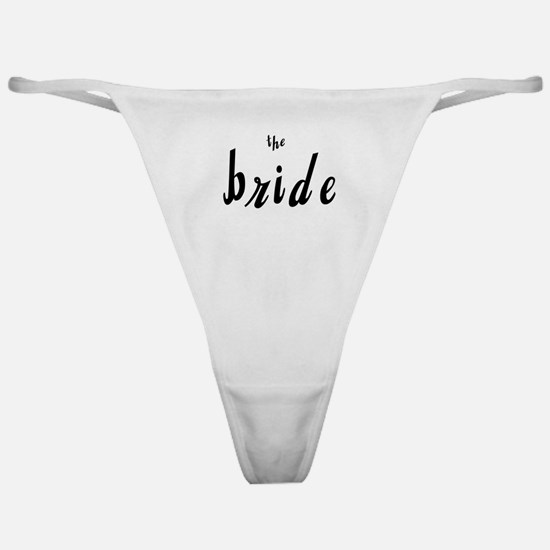 The Bride Classic Thong