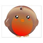 Cute Robin Bird Small Poster