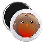 Cute Robin Bird Magnet