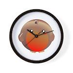 Cute Robin Bird Wall Clock