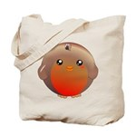 Cute Robin Bird Tote Bag