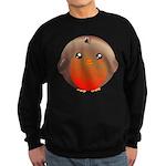 Cute Robin Bird Sweatshirt (dark)