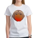Cute Robin Bird Women's T-Shirt
