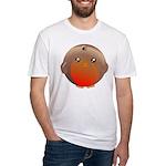 Cute Robin Bird Fitted T-Shirt
