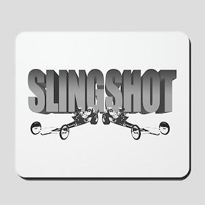 Front Engine Slingshot Dragst Mousepad