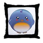 Cute Bluebird Throw Pillow