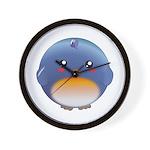 Cute Bluebird Wall Clock