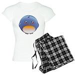 Cute Bluebird Women's Light Pajamas
