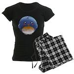 Cute Bluebird Women's Dark Pajamas