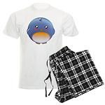 Cute Bluebird Men's Light Pajamas