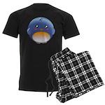 Cute Bluebird Men's Dark Pajamas