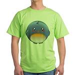 Cute Bluebird Green T-Shirt