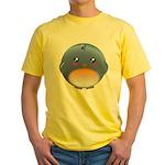 Cute Bluebird Yellow T-Shirt