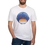 Cute Bluebird Fitted T-Shirt