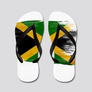 Jamaica Flag Flip Flops