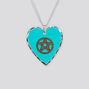 PROUD PAGAN Necklace Heart Charm