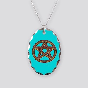 PROUD PAGAN Necklace Oval Charm