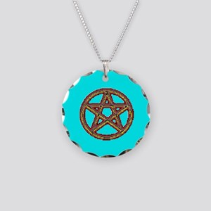 PROUD PAGAN Necklace Circle Charm